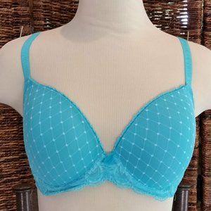 Wacoal Aqua Blue 853115 Bra 34 D